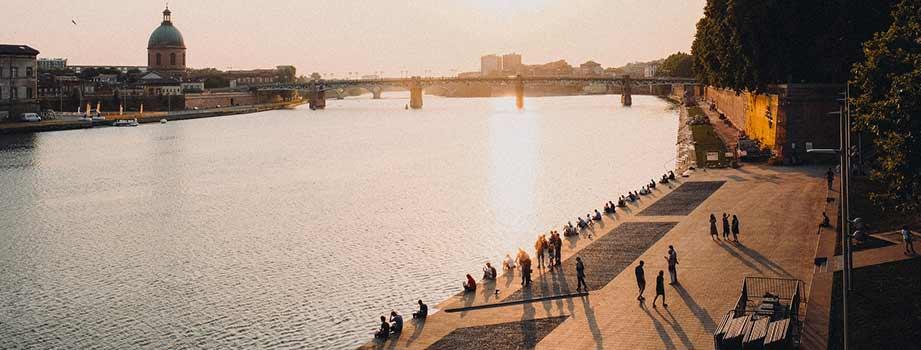 les quartiers étudiants à Toulouse