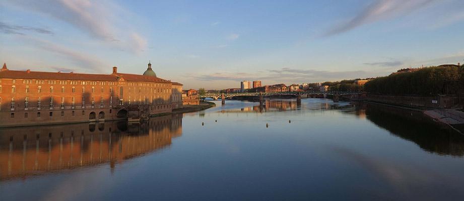 vue panoramique Toulouse